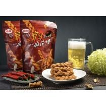 香辣小麻花捲(全素) 200公克/包